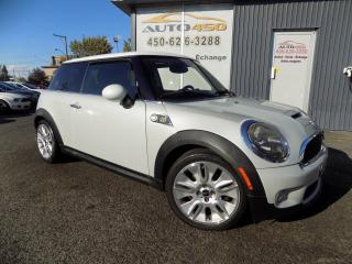 Used 2010 MINI Cooper S ***CAMDEN EDITION,TOIT PANO,CUIR,MAGS** for sale in Longueuil, QC