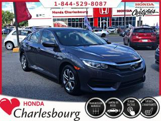 Used 2016 Honda Civic 4 portes, boîte manuelle, LX for sale in Charlesbourg, QC