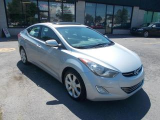 Used 2011 Hyundai Elantra LIMITED ** NAVIGATION/GPS ** for sale in St-Hubert, QC
