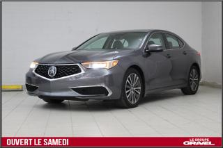 Used 2018 Acura TLX TECH  AWD CERTIFIÉ GPS TAUX 0.90% for sale in Montréal, QC