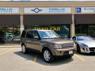 Used 2011 Land Rover LR4 LUX, 1 owner, Clean CarFax for sale in Vaughan, ON