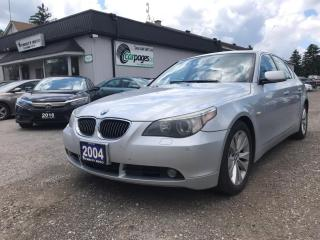 Used 2004 BMW 5 Series 545i 2004 BMW 5-Series 545i AS IS for sale in Bloomingdale, ON