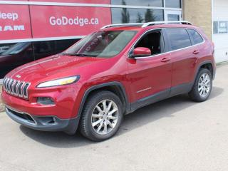 Used 2014 Jeep Cherokee Limited / GPS Navigation for sale in Edmonton, AB