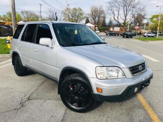 Used 2000 Honda CR-V Leather, for sale in Rexdale, ON