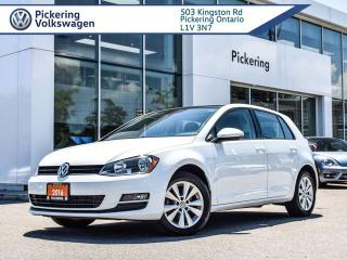 Used 2016 Volkswagen Golf COMFORTLINE - AUTO!! for sale in Pickering, ON