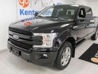 Used 2018 Ford F-150 Lariat Sport 4x4 ecoboost, NAV, sunroof, heated/cooled power leather seats, back up cam for sale in Edmonton, AB