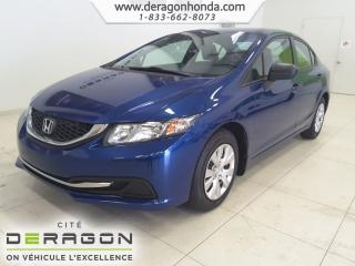 Used 2014 Honda Civic Dx+lecteur Cd+vi for sale in Cowansville, QC