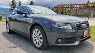 Used 2010 Audi A4 2.0T SEDAN QUATTRO T for sale in West Kelowna, BC