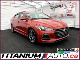 Used 2017 Hyundai Elantra Sport Turbo+Camera+Sunroof+Leather+Blind Spot+XM++ for sale in London, ON