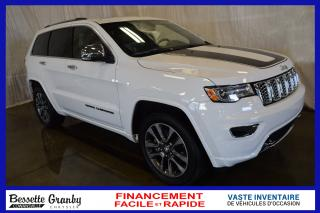 Used 2018 Jeep Grand Cherokee Overland V8 for sale in Cowansville, QC