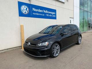 Used 2017 Volkswagen Golf R 2.0L TURBO 4MOTION AWD - 6SPD MANUAL W/ TECH for sale in Edmonton, AB