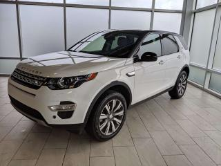 Used 2016 Land Rover Discovery Sport HSE LUXURY/HEATED SEATS/HEATED WHEEL/LANE DEPARTURE/BLIND SPOT for sale in Edmonton, AB