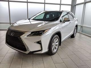 Used 2017 Lexus RX 350 CLAIM FREE/ONE OWNER/AWD/BLIND SPOT/LANE KEEP ASSIST for sale in Edmonton, AB