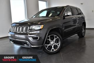 Used 2019 Jeep Grand Cherokee OVERLAND + DEMO + V6 3.6L + SUSP. PNEUMA for sale in St-Jean-Sur-Richelieu, QC