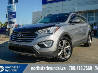 Used 2013 Hyundai Santa Fe LTD: 6 PASS/HEATED/COOLED SEATS/PANO ROOF/NAV/REMOTE START for sale in Edmonton, AB