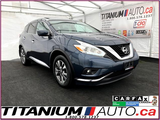 2016 Nissan Murano SL+AWD+GPS+360 Camera+Pano Roof+Leather+Blind Spot