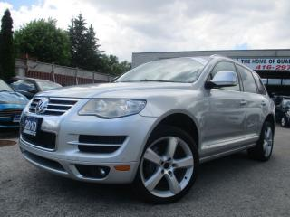 Used 2010 Volkswagen Touareg HIGHLINE-TDI-AWD-LTHER-ROOF-BLUETOOTH-HEATED for sale in Scarborough, ON