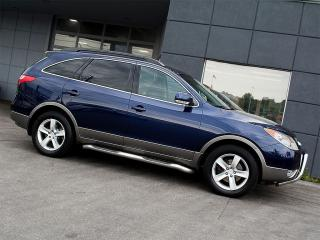 2010 Hyundai Veracruz AWD|LEATHER|SUNROOF|ALLOYS|7 SEATS|RUNNING BOARDS