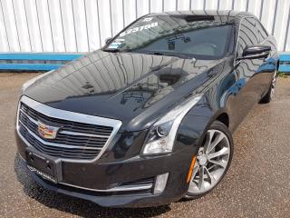 Used 2015 Cadillac ATS 2.0T Coupe Luxury *NAVIGATION* for sale in Kitchener, ON