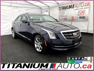 Used 2015 Cadillac ATS Luxury AWD+GPS+Camera+Sunroof+Park Sensors+XM Radi for sale in London, ON