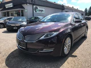 Used 2013 Lincoln MKZ AWD 2013 Lincoln MKZ AWD for sale in Bloomingdale, ON