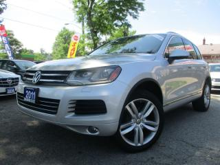 Used 2011 Volkswagen Touareg Comfortline-TDI-AWD-NAVIGATION-LTHER-ROOF-BLUETOOT for sale in Scarborough, ON