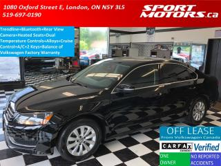 Used 2015 Volkswagen Passat Trendline+Camera+Bluetooth+Heated Seats+A/C for sale in London, ON