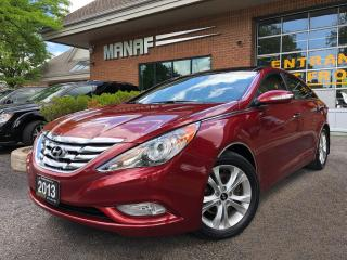 Used 2013 Hyundai Sonata Limited Pano Sunroof Navi Rear Cam Heated Seats for sale in Concord, ON