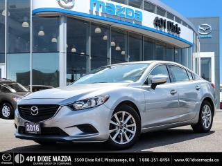 Used 2016 Mazda MAZDA6 GX|ONE OWNER|1.9% FINANCE AVAILABLE| for sale in Mississauga, ON