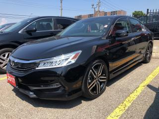 Used 2017 Honda Accord Touring, Roadsport Honda original for sale in Toronto, ON