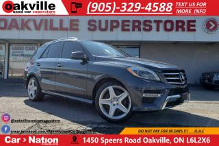 Used 2014 Mercedes-Benz ML-Class ML350 BlueTEC | PANOROOF | NAV | 360 CAM | AMG PKG for sale in Oakville, ON