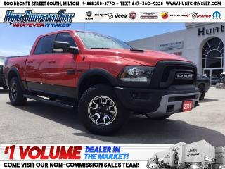 Used 2016 RAM 1500 REBEL | HEMI | CAM | NAV | LUXURY & MORE!!! for sale in Milton, ON