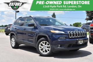 Used 2016 Jeep Cherokee North - One Owner, Well Maintained, Roof Rack for sale in London, ON