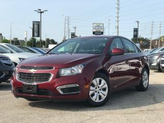 Used 2016 Chevrolet Cruze LT Rear CAM|LOW KM|Remote Strt| for sale in Mississauga, ON