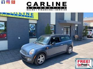 Used 2009 MINI Cooper Clubman 2DR CPE for sale in Nobleton, ON
