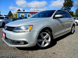 Used 2011 Volkswagen Jetta Comfortline TDI DSG Sunroof Heated Seats Certified for sale in Guelph, ON