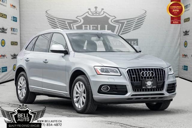 2015 Audi Q5 2.0T Technik, NAVI, BAK-UP CAM, PANO ROOF, SENSORS, PUSH START