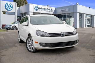 Used 2013 Volkswagen Golf 2.0 TDI Highline *MANUAL TRANSMISSION* *NAVIGATION* *LEATHER* *PANOROOF* for sale in Surrey, BC
