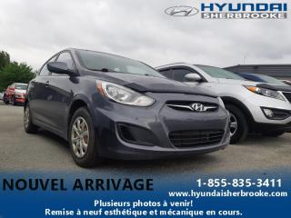 Used 2012 Hyundai Accent BAS KILO! GL+AUTO+A/C+CRUISE+GRP ÉLECTRI for sale in Sherbrooke, QC