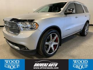 Used 2011 Dodge Durango Citadel CLEAN CARFAX, ONE OWNER, CITADEL for sale in Calgary, AB