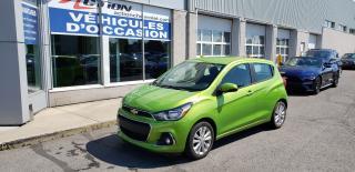 Used 2016 Chevrolet Spark 1lt Cvt, Ecran for sale in St-Hubert, QC
