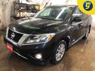 Used 2016 Nissan Pathfinder SV * 4WD * 7 Passenger * Push button ignition * Cloth interior * Back up camera * Heated front seats/steering wheel * Triple climate control with rear for sale in Cambridge, ON