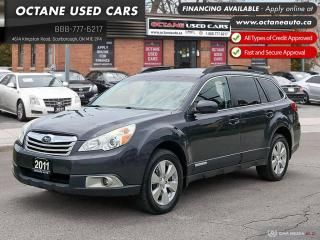 Used 2011 Subaru Outback 3.6 R Limited Package Accident Free! Service Records! for sale in Scarborough, ON