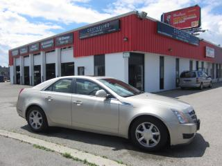 Used 2008 Cadillac CTS 4 AWD $4,995 +HST +LIC FEE / CLEAN CARFAX REPORT for sale in North York, ON