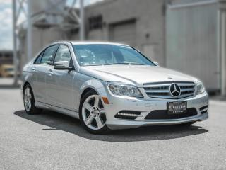 Used 2011 Mercedes-Benz C-Class C 300 I NAVIGATION I NO ACCIDENT for sale in Toronto, ON