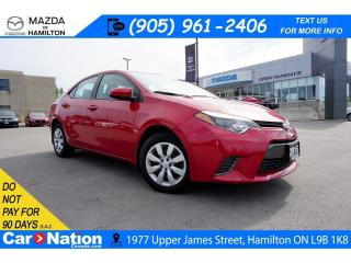 Used 2015 Toyota Corolla LE | REAR CAM | HEATED SEATS | BLUETOOTH | LOW KMS for sale in Hamilton, ON