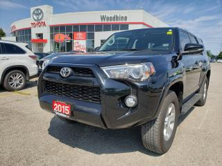 Used 2015 Toyota 4Runner SR5 V6 NO ACCIDENTS | ONE OWNER | LEGENDARY 4X4 for sale in Etobicoke, ON
