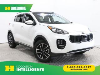 Used 2018 Kia Sportage SX TURBO AWD, BANC for sale in St-Léonard, QC