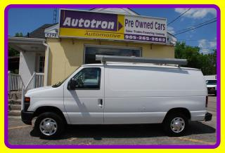Used 2010 Ford E-150 1/2 Ton Econoline, Roof Rack for sale in Woodbridge, ON