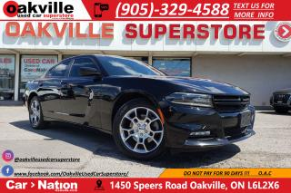 Used 2016 Dodge Charger SXT | LEATHER | HTD VTD SEATS | NAV | B/U CAM for sale in Oakville, ON